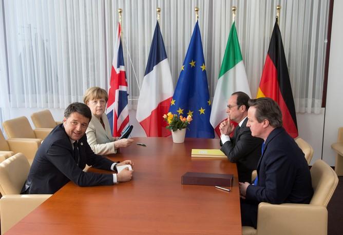 EU summit: very little on the table. EPA/Yves Herman